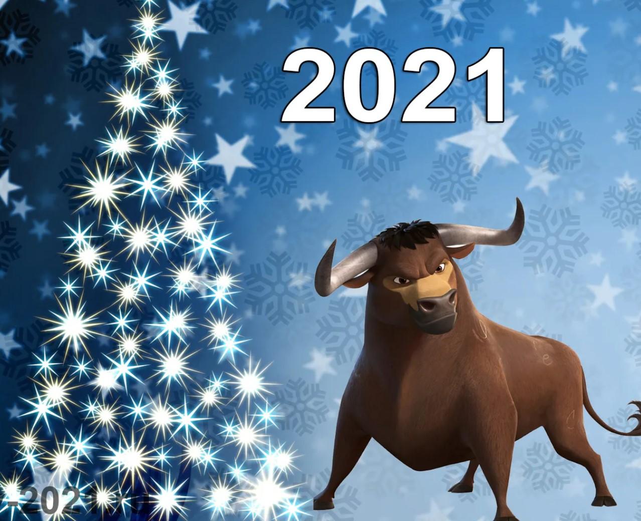 Как встречать Новый 2021 год Белого Металлического быка